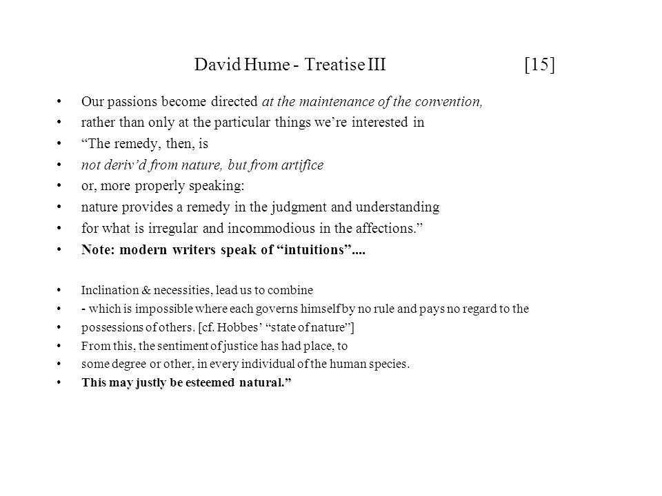 David Hume - Treatise III [15]
